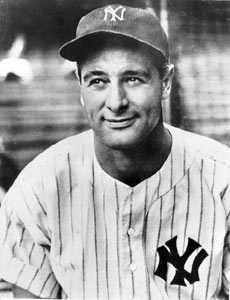 About Lou Gehrig | Brain Institute | University of Pittsburgh